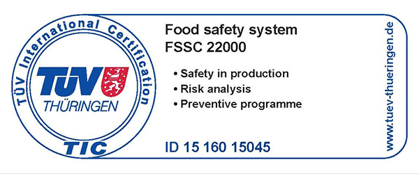 FSSC 22000 - Food Safety Management System