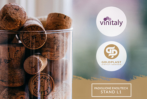 GOLDPLAST invites you at the 51st Vinitaly in Verona